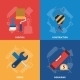 Home Repair Tools Icons Composition - GraphicRiver Item for Sale