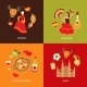 Spain Icons Composition Set - GraphicRiver Item for Sale