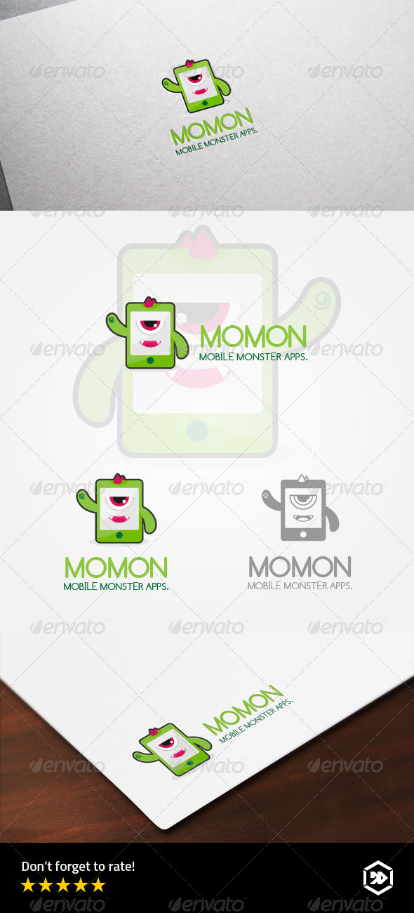 GraphicRiver Mobile Monster Application 8631181
