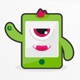 Mobile Monster Application - GraphicRiver Item for Sale