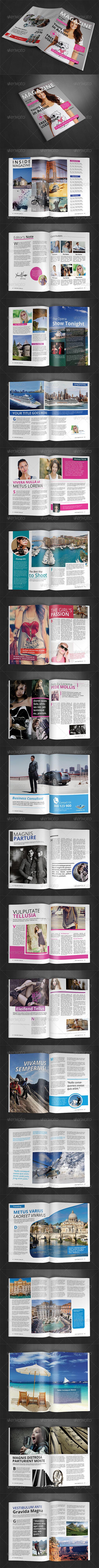 GraphicRiver A4 Magazine Template Vol 5 8631379