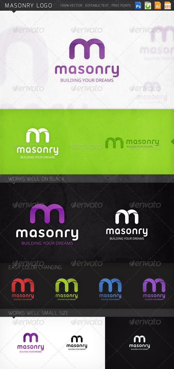 GraphicRiver Masonry Logo 8631388