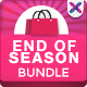 End of Season Banner Bundle - 3 Sets - GraphicRiver Item for Sale
