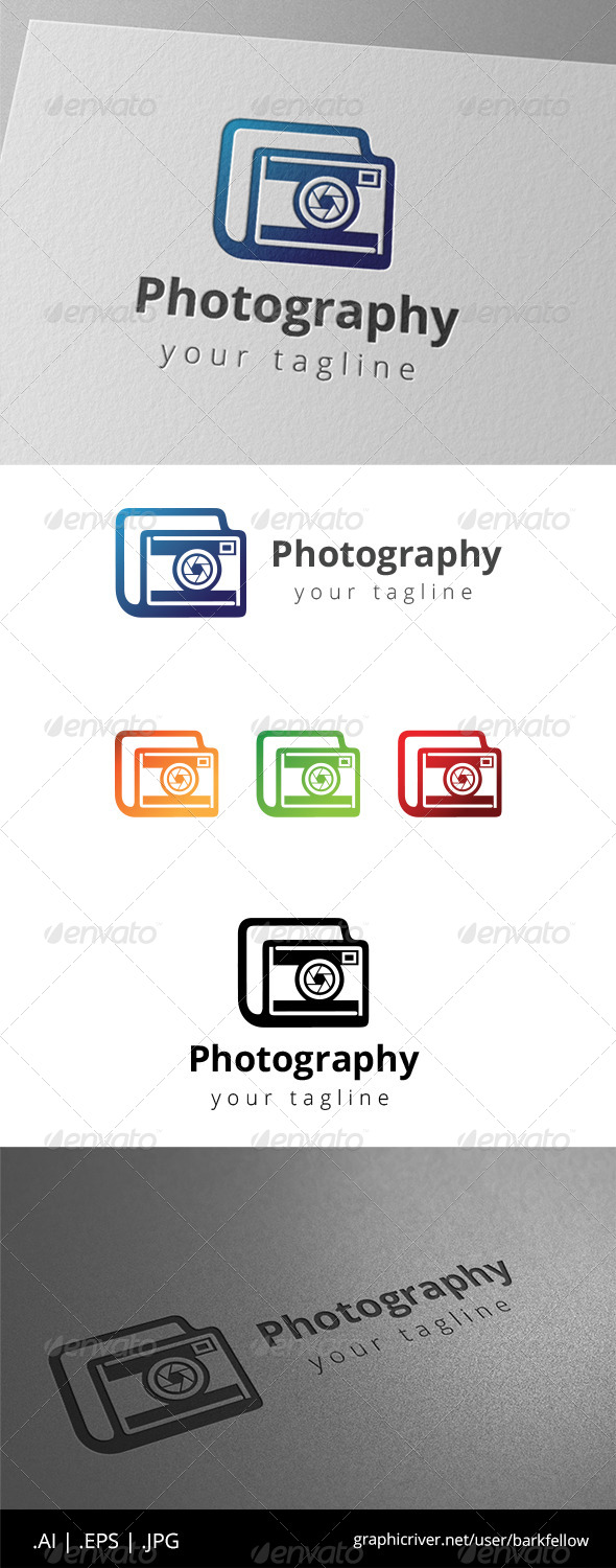 GraphicRiver Camera Photography Studio Logo 8631522