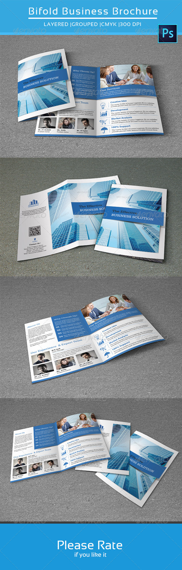 GraphicRiver Bifold Business Brochure-V114 8631530