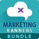 Marketing Banner Bundle - 3 Sets - GraphicRiver Item for Sale