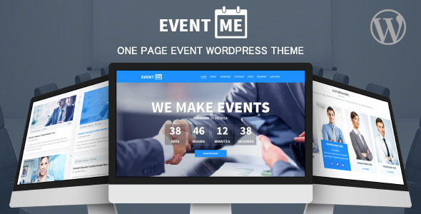 ThemeForest EventMe Event Landing Wordpress Theme 8551616
