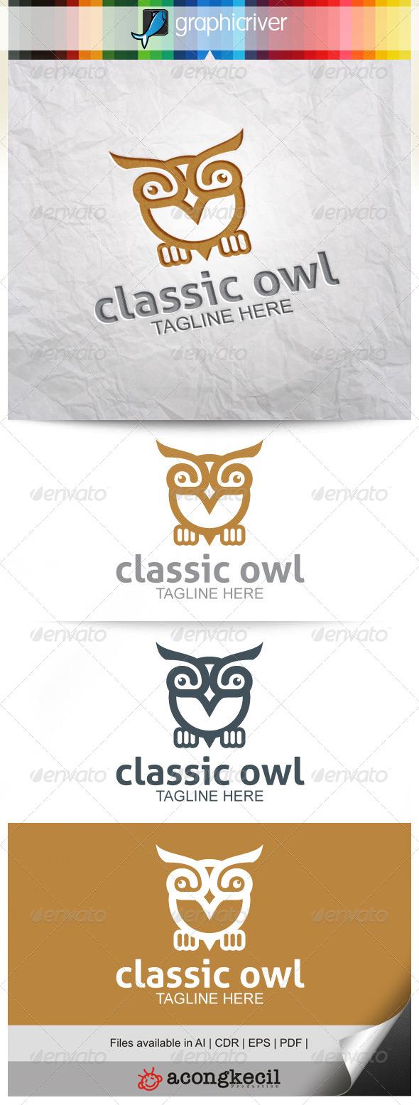 GraphicRiver Classic Owl 8631753