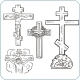 Cross and Crucifix  - GraphicRiver Item for Sale