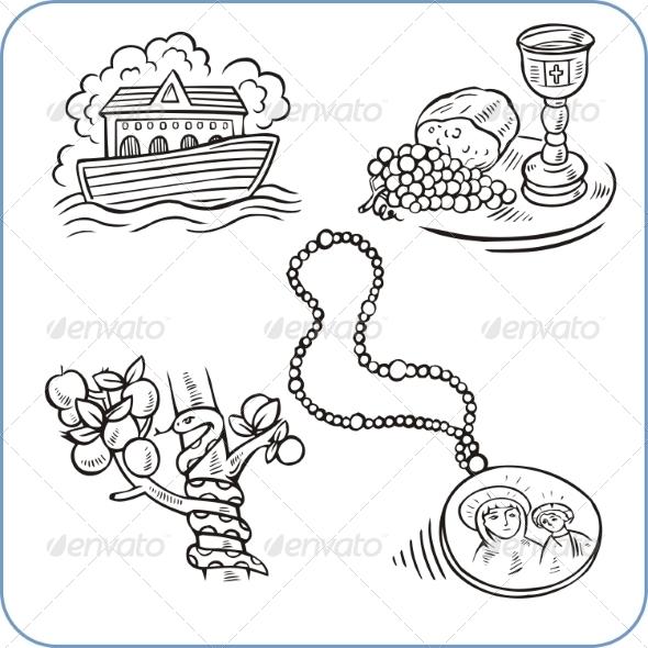 GraphicRiver Biblical Scenes 8631838