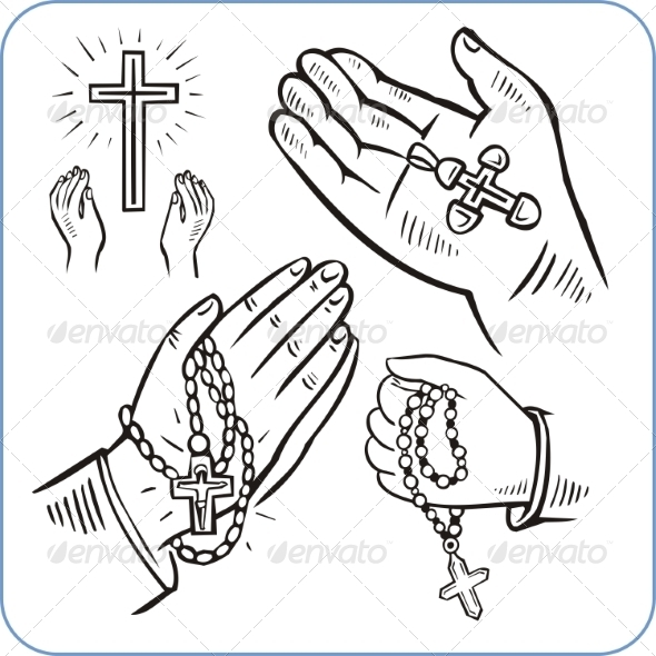 GraphicRiver Hands and Crosses 8631856