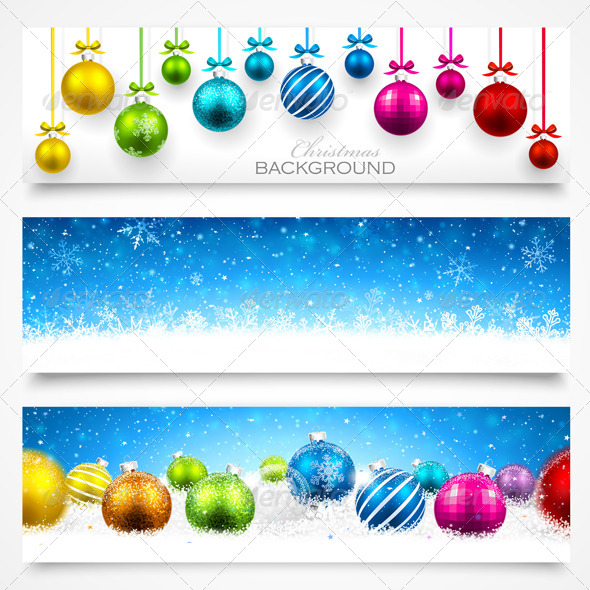 GraphicRiver Collection of Christmas Banners 8632061
