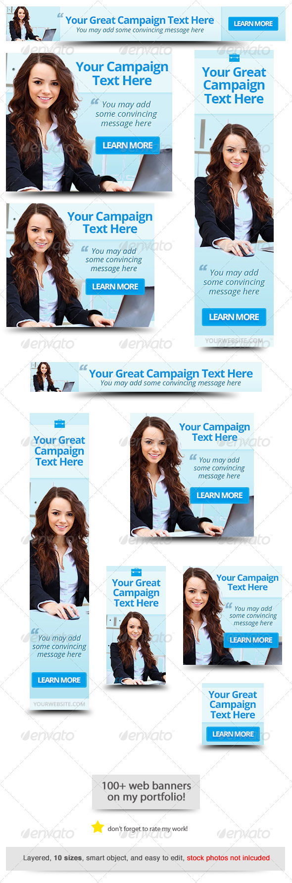 Corporate Web Banner Design Template 48