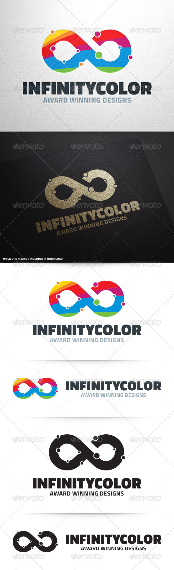 GraphicRiver Infinity Color Logo Template 8632315