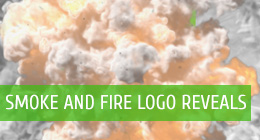 Smoke and Fire Logo Reveals