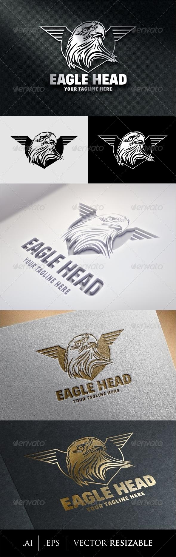 GraphicRiver Eagle Head Logo 8622491