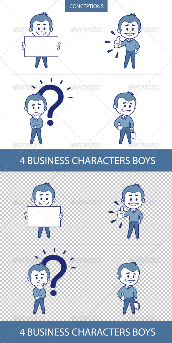 GraphicRiver Business Characters Mans 8632420