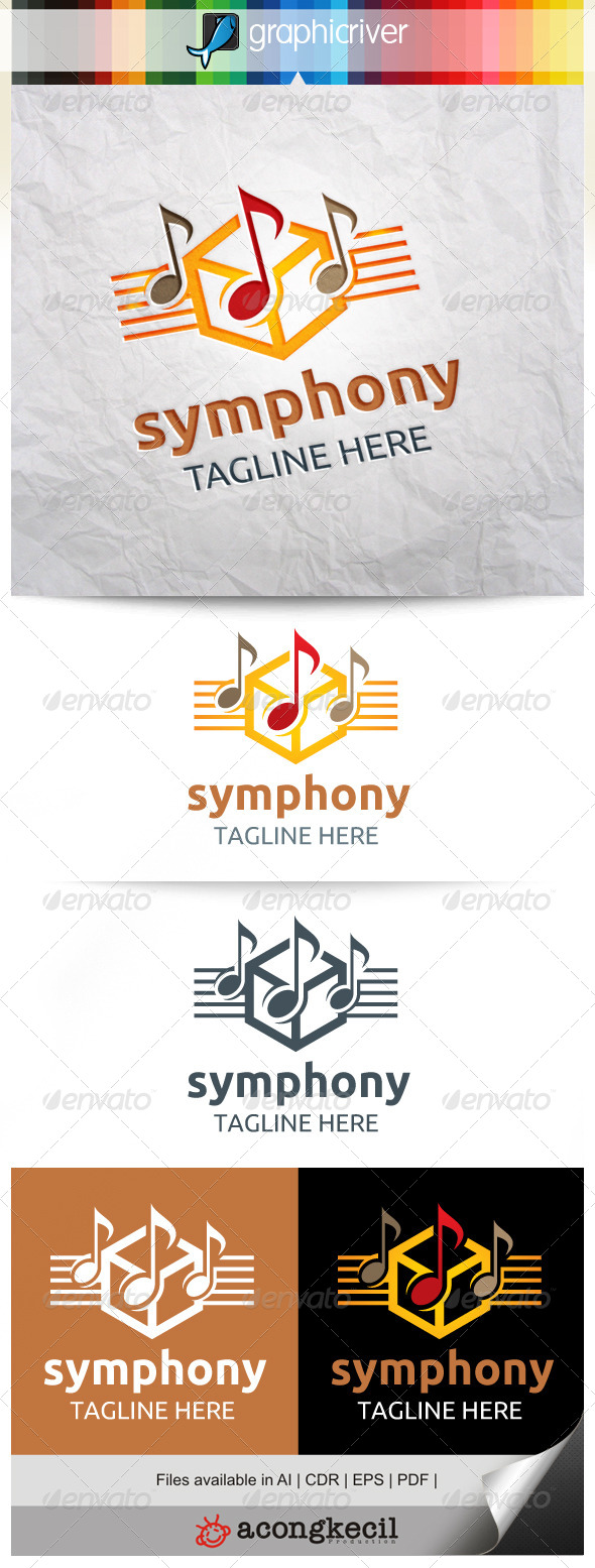 GraphicRiver Symphony Music V.2 8632433