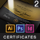 A Great Deal! / Multipurpose Modern Certificates - GraphicRiver Item for Sale