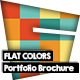 Flat Colors Portfolio Brochure - GraphicRiver Item for Sale