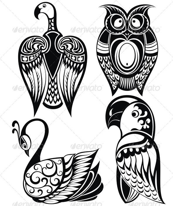 GraphicRiver Birds Icons 8632600