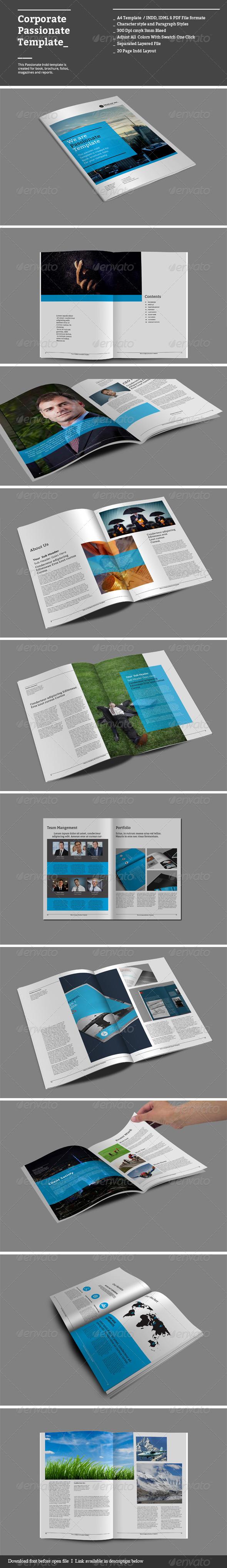 GraphicRiver Corporate Passionate Templates 8632775