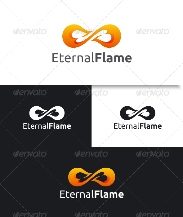 GraphicRiver Eternal Flame Logo 8633291