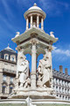 The famous Jacobin's Fountain in Lyon - PhotoDune Item for Sale