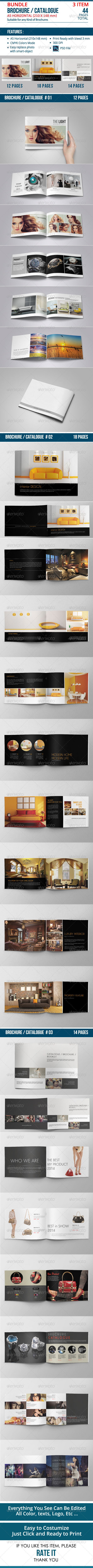 GraphicRiver Catalogue Brochure Bundle Vol 04 8634321