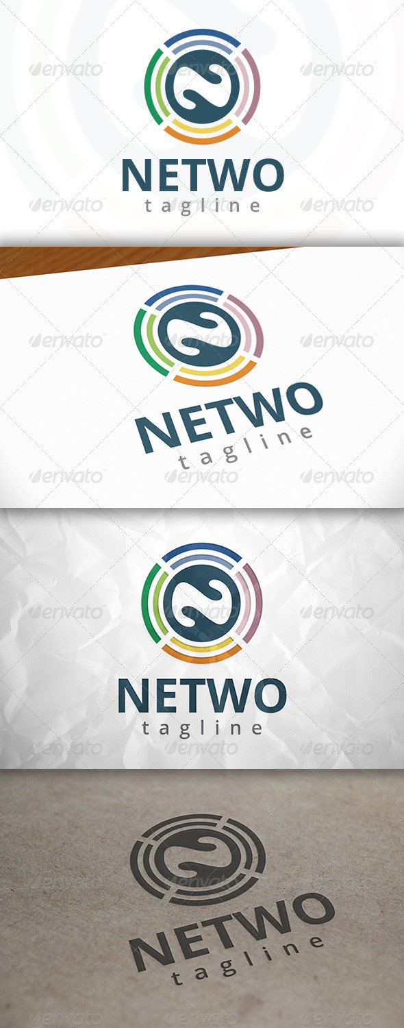 GraphicRiver Network N Letter Logo 8634888