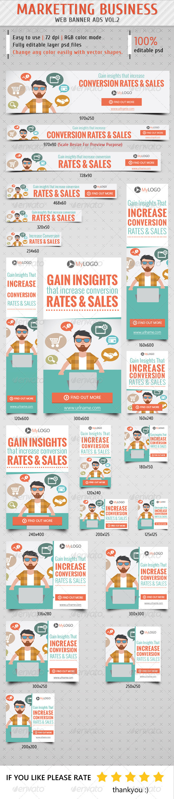 GraphicRiver Marketting Business Banner Ads Vol.2 8625169