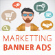 Marketting Business Banner Ads Vol.2 - GraphicRiver Item for Sale