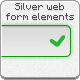 Silver Web Form Elements