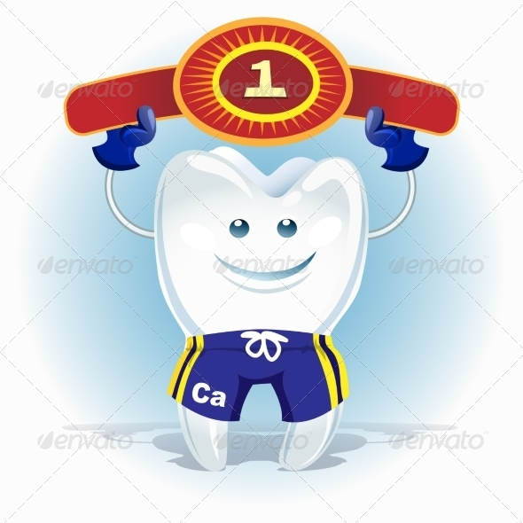 GraphicRiver Champion Tooth 8634923