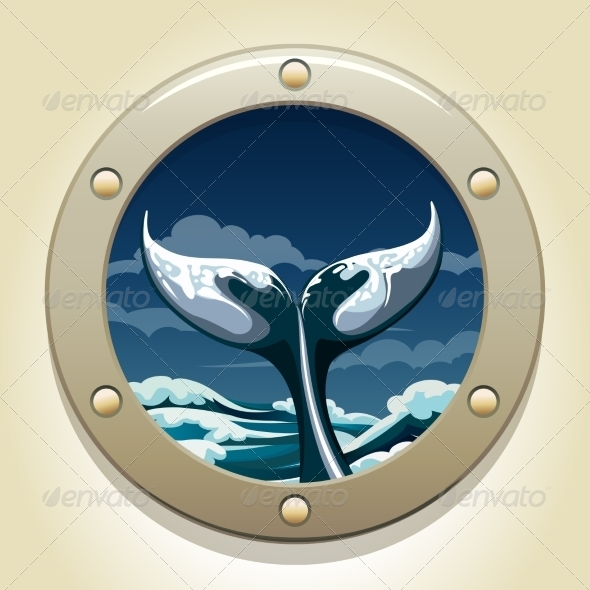 GraphicRiver Whale Tail 8634946