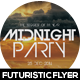 Midnight Party Event Flyer Design - GraphicRiver Item for Sale