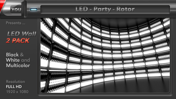 LED Party Rotor