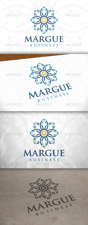 GraphicRiver Marguerite Logo 8635304
