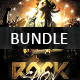Rock Flyer Bundle - GraphicRiver Item for Sale