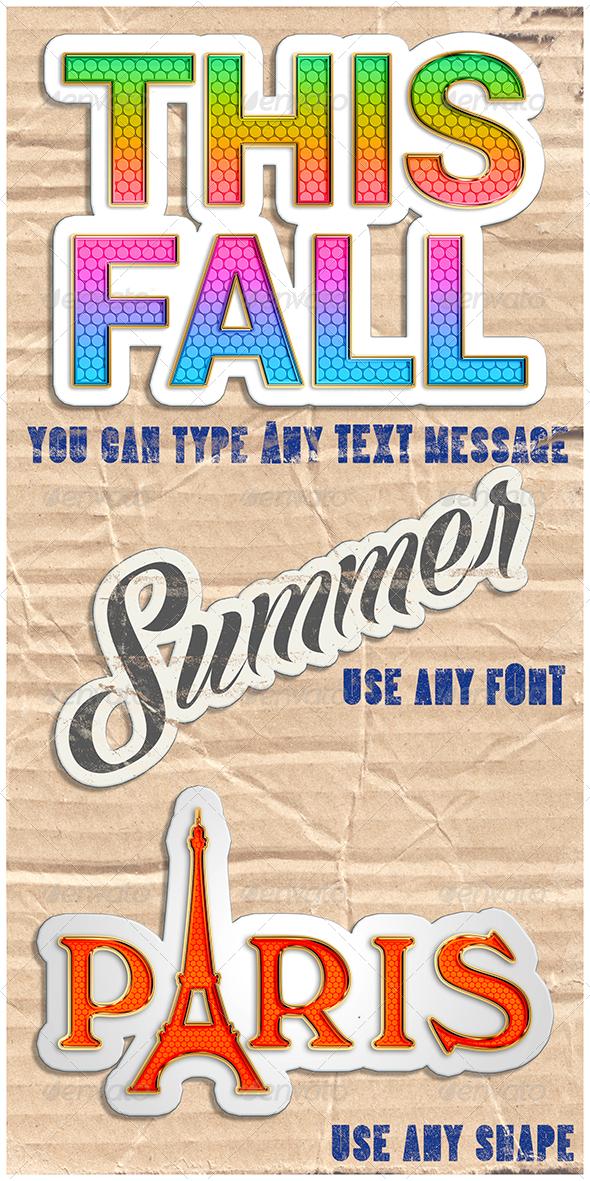 GraphicRiver Stickers 8635651