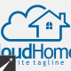Cloud Home Logo Template - GraphicRiver Item for Sale