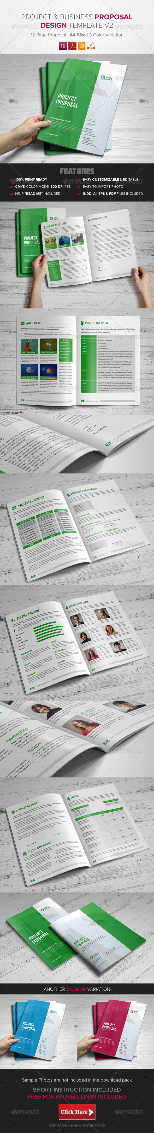 GraphicRiver Project & Business Proposal Template v2 8635775