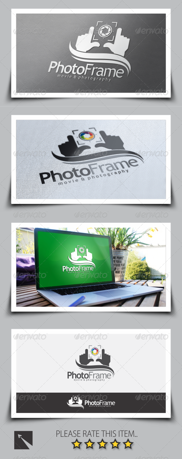 GraphicRiver Photo Frame Logo Template 8635787
