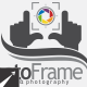 Photo Frame Logo Template - GraphicRiver Item for Sale