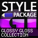 Glossy Gloss Styles - GraphicRiver Item for Sale