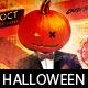 Mad Pumpkin Halloween Flyer - GraphicRiver Item for Sale