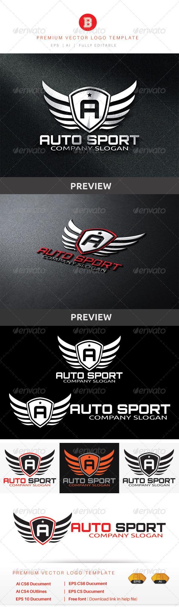 GraphicRiver Auto Sport 8636556