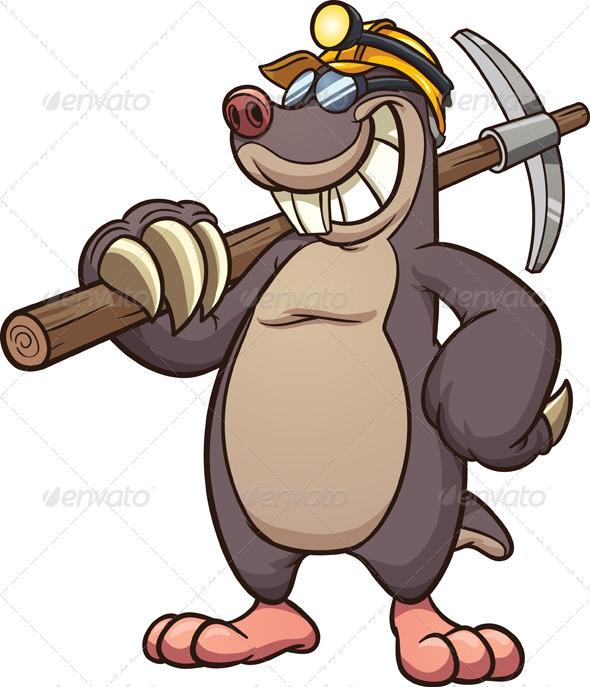 GraphicRiver Miner Mole 8636557