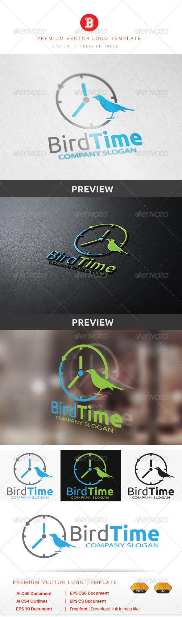 GraphicRiver Bird Time 8636609