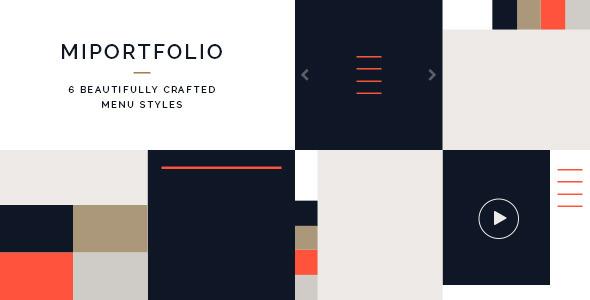ThemeForest Miportfolio- Responsive One Page Creative Theme 8636679